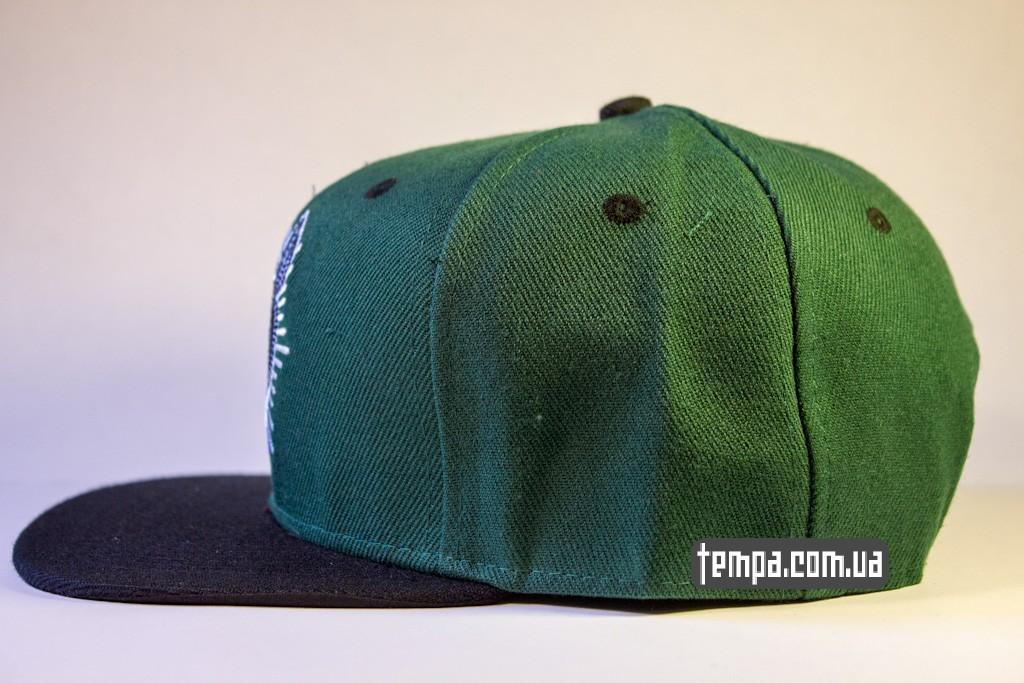 kepka Snapback REBEL8 зеленавя с совой original_1