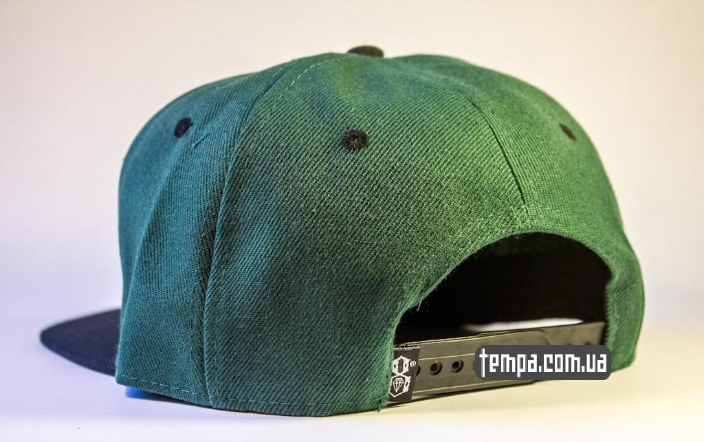 kepka Snapback REBEL8 зеленавя с совой original_2