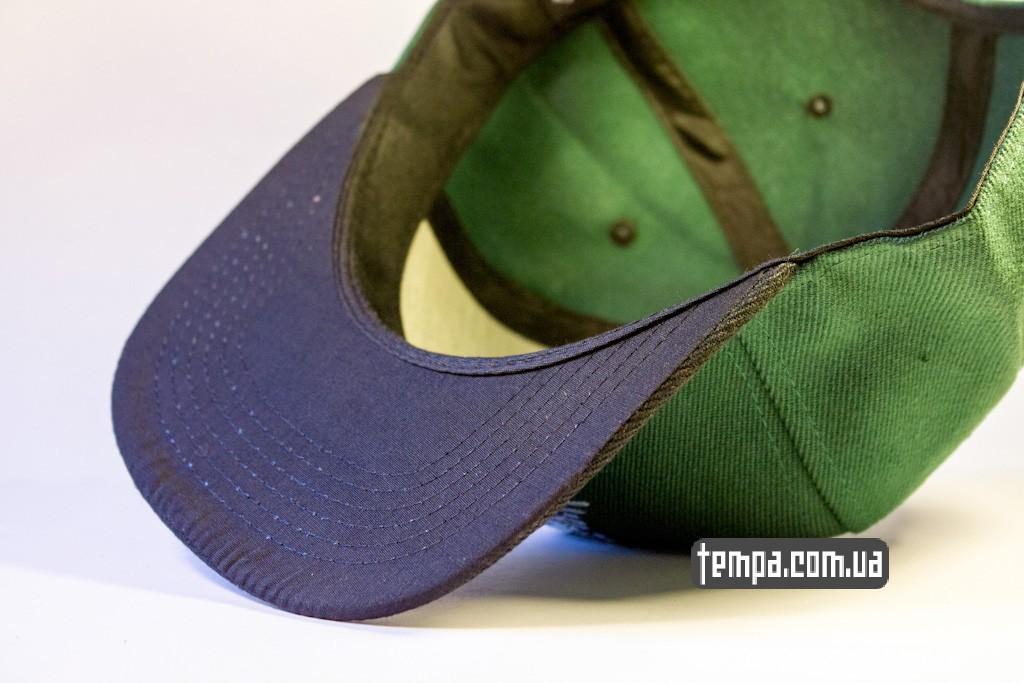 kepka Snapback REBEL8 зеленавя с совой original_3