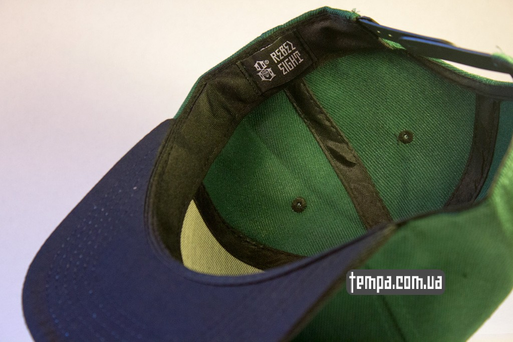 kepka Snapback REBEL8 зеленавя с совой original_4