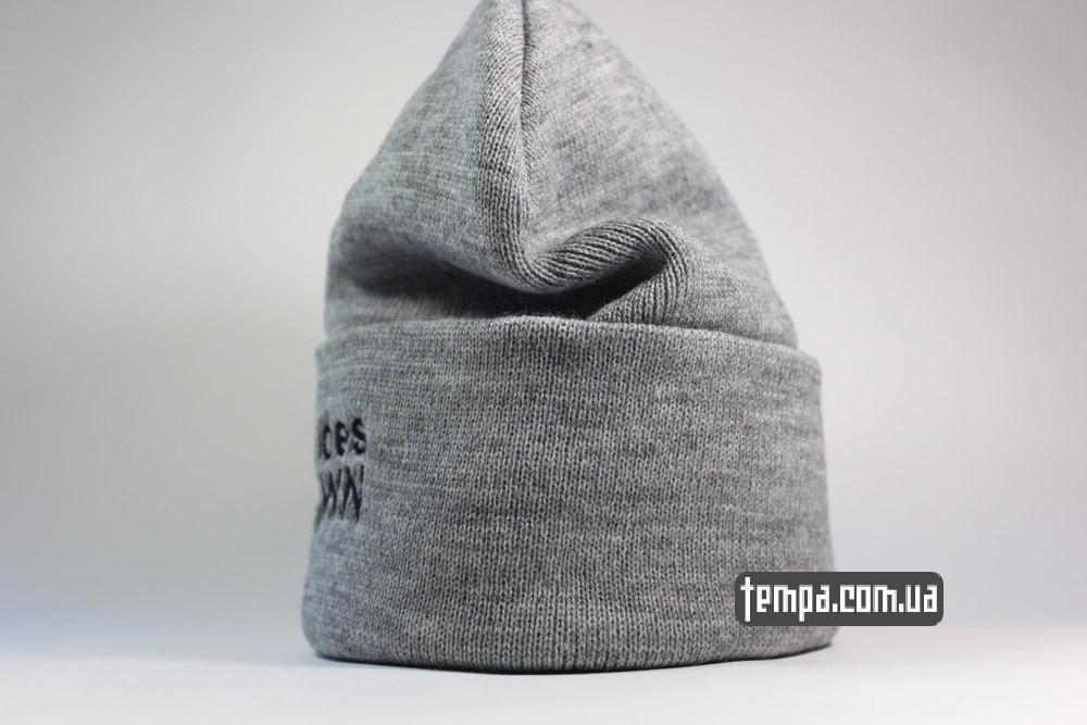 Comme des FUCKDOWN шапка beanie теплая зимняя купить в Украине заказать