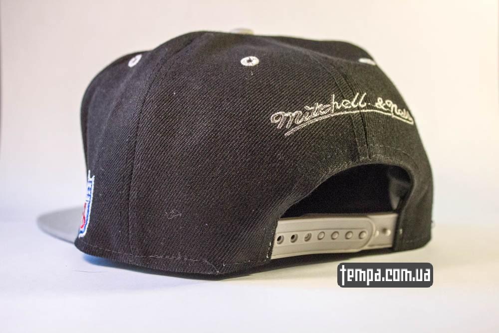 Кепка Snapback RAIDERS черную купить бейсболку_2