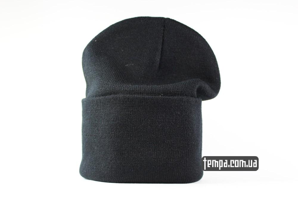 черная зимняя шапка beanie купить BOY LONDON украина_