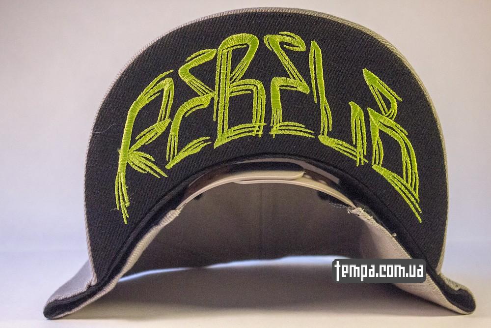 кепка snapback REBEL8 rebel 8 серая оригинальная в украине бейсболка_5