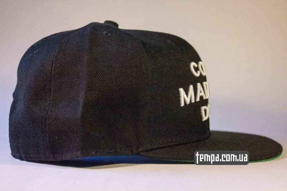 кепка snapback SSUR COCO MADE ME DO IT черная бейсболка_3