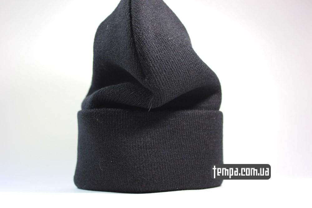 купить шапку бини FREE PUSSY RIOT черную зимнюю теплую женскую Украина