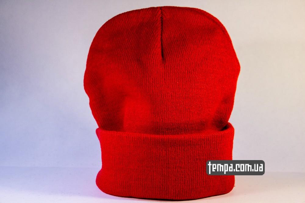 купить шапку красную MISHKA с глазом_2