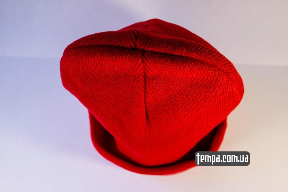 купить шапку красную MISHKA с глазом_3