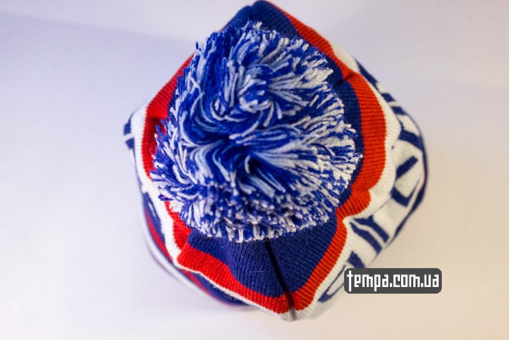 шапка SUPERMAN vintage синяя с белым винтажная купить в украине_5
