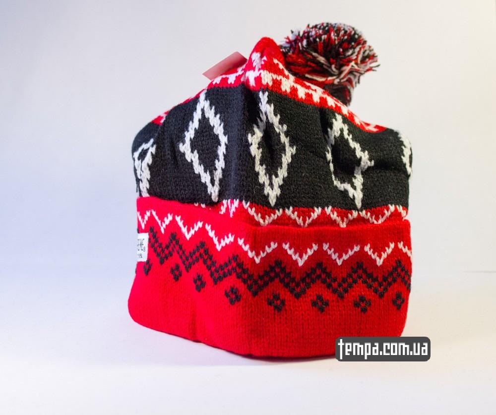 шапка SUPREME красная винтажная купить в украине_2