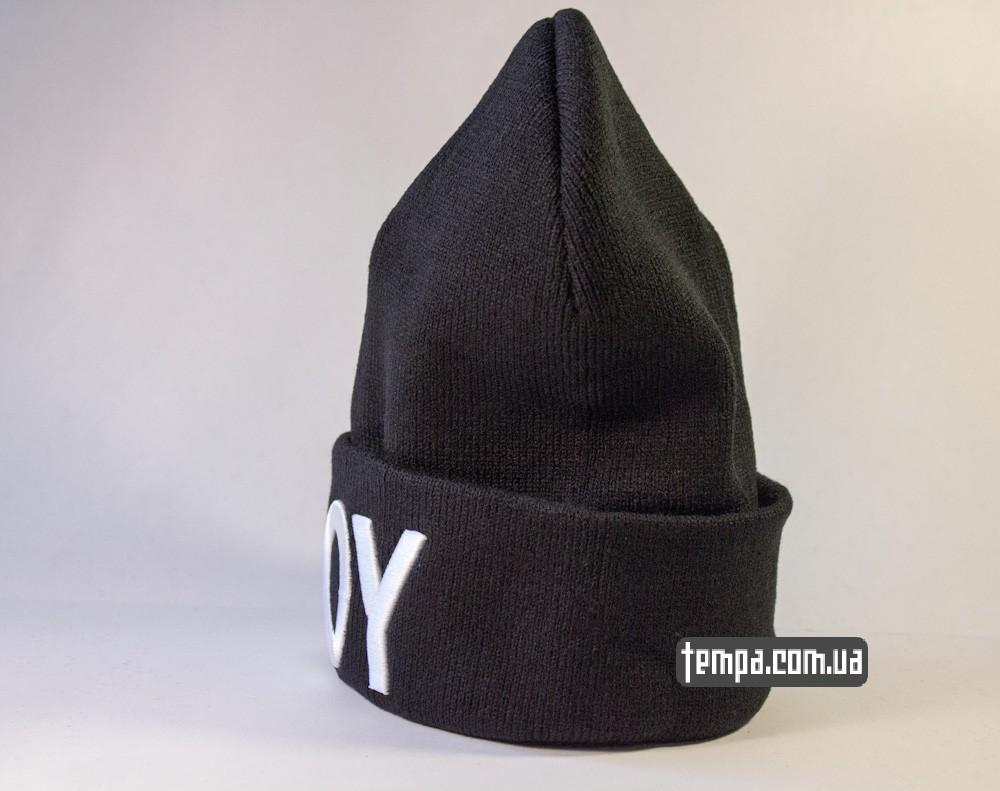шапка черная BOY London оригинальная купить в украине_1