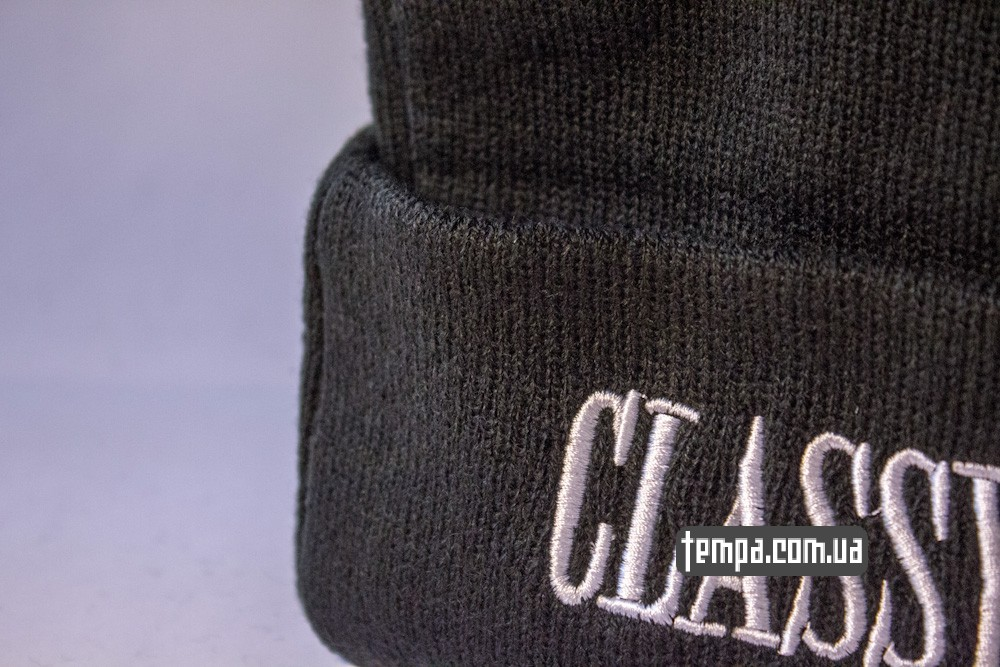 шапка черная CLASSY BITCH с крестом купить в украине_5