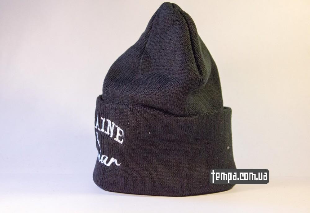 шапка черная Crooks and Castles Cocaine and Caviar купить в украине_2