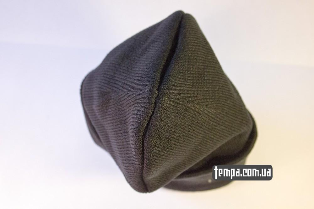 шапка черная Crooks and Castles Cocaine and Caviar купить в украине_4