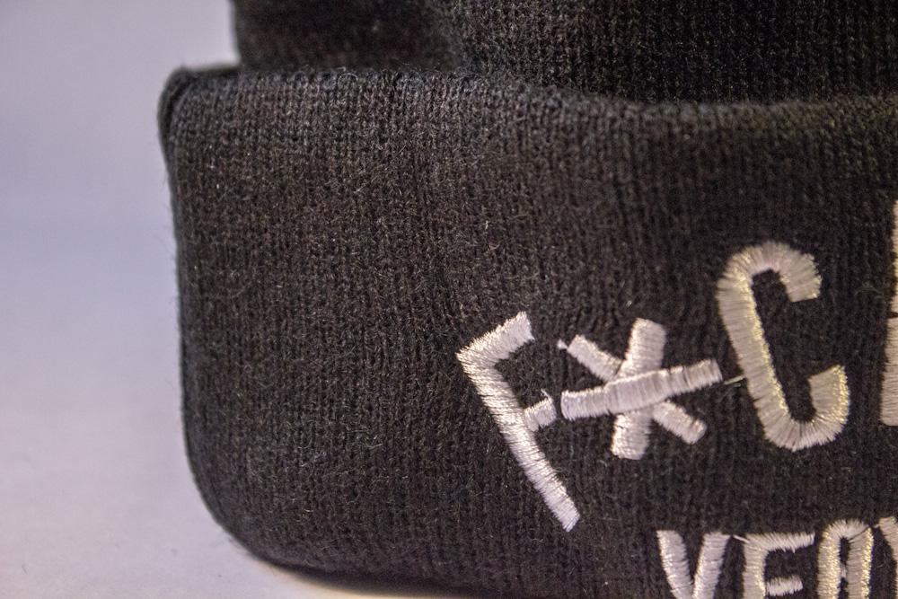 шапка черная Fuck you very much купить в украине_5
