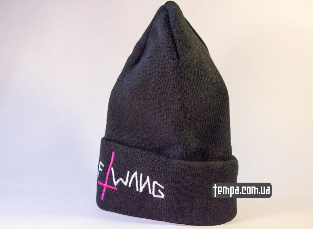 шапка черная ODD FUTURE Golf Wang с крестом купить в украине_1