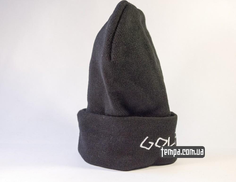 шапка черная ODD FUTURE Golf Wang с крестом купить в украине_3