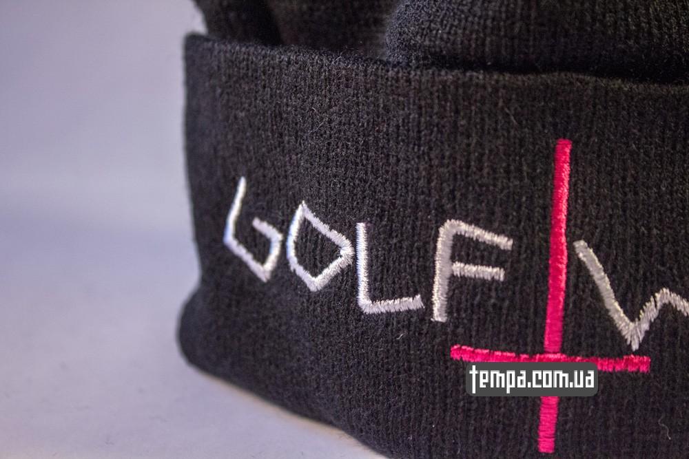 шапка черная ODD FUTURE Golf Wang с крестом купить в украине_5