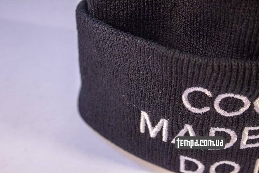 шапка черная SSUR COCO MADE ME DO IT купить в украине_4