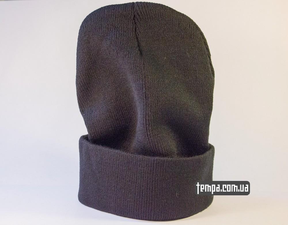 шапка черная wasted youth с крестом купить в украине_3