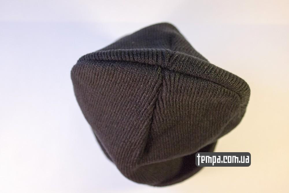 шапка черная wasted youth с крестом купить в украине_6
