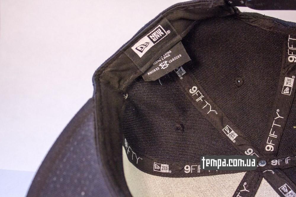Купить кепку Snapback NewEra New York Yankees черную в Украине оригинал_3
