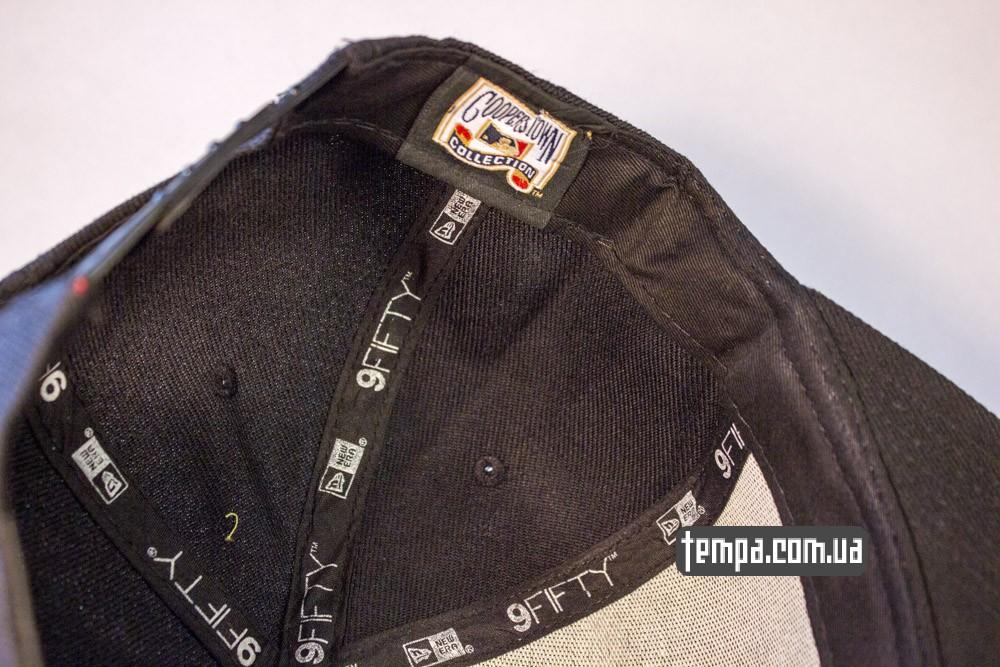 Купить кепку Snapback NewEra New York Yankees черную в Украине оригинал_4