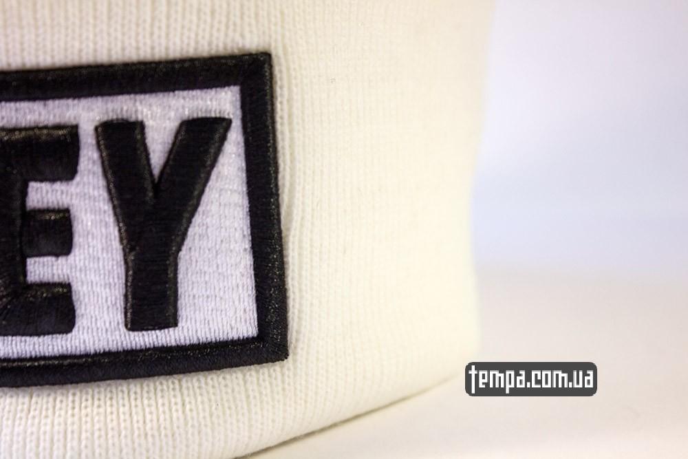Купить зимнюю шапку OBEY белую оригинал в Украине_5