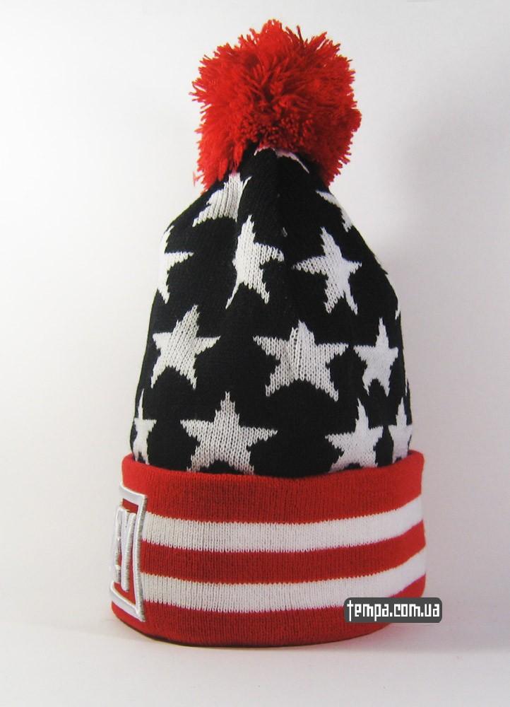 купить шапку OBEY с балабоном оригинальную в Украине закать