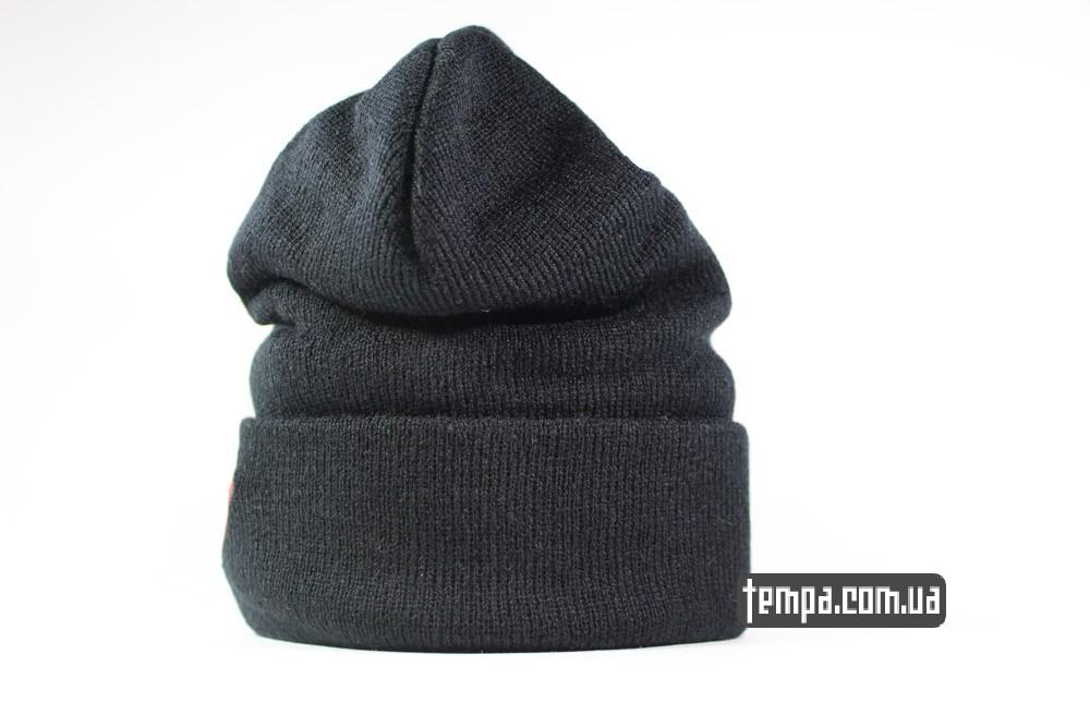 купить шапку Superman New Era оригинал черную зимнюю шерстяную