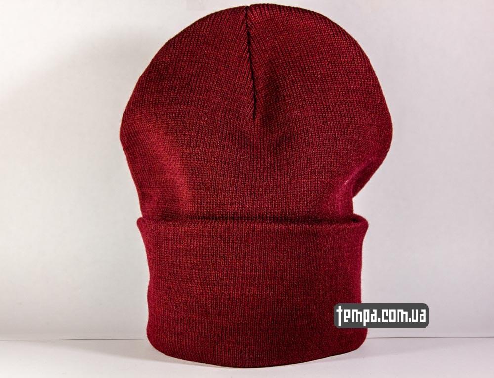 шапка carhartt кархарт красная заказать в украине недорого оригинал где купить