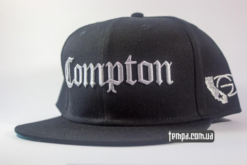 кепка Compton gangster черная купить в украине