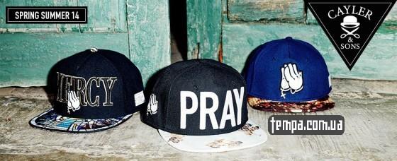 Купить бейсболку PRAY CAYLER SONS