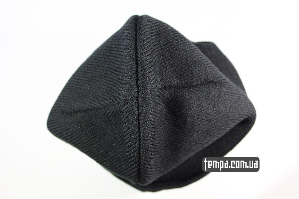 шапка черная шерстяная теплая зимняя Carhartt карахарт украина купить в украине