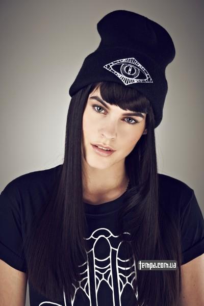 iamvibes шапка черная купить украина женская шапка
