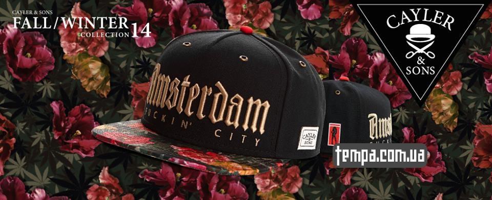 amsterdam кепка купить украина бейсболка