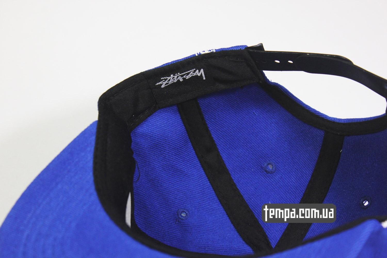 кепки с доставкой по украине быстрой заказать сша кепка snapback STUSSY синяя голуюая oldschool