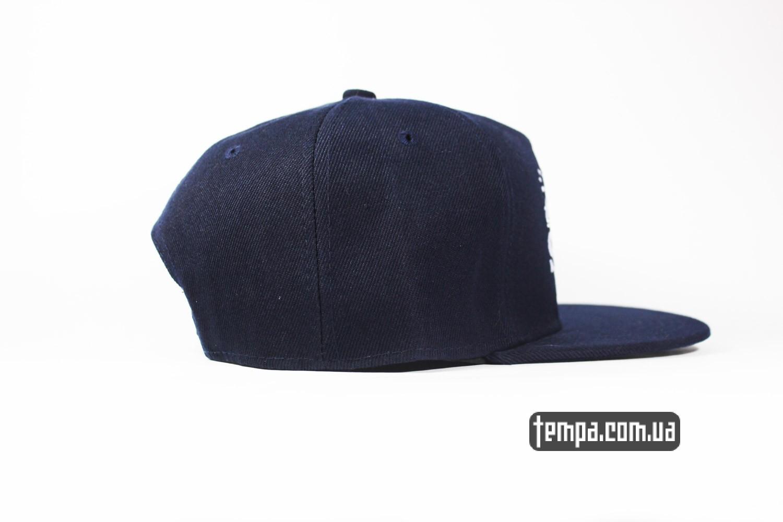 темная синяя кепка снепбеки бейсболка украина киев snapbak SSUR NEW YORK
