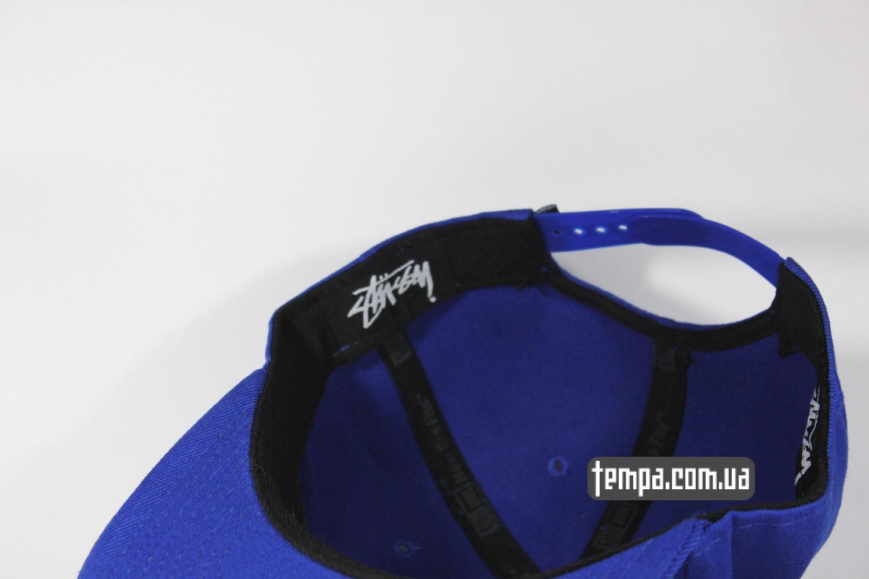 stussy snapback синяя кепка бейсболка купить киев украина заказать