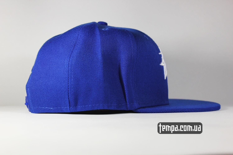 stussy snapback синяя кепка бейсболка купить в украине