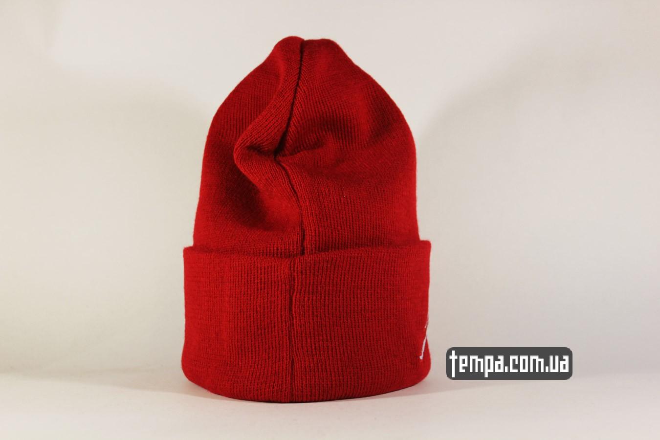 and1 NBA одежда шапка beanie Jordan Jump New Era красная