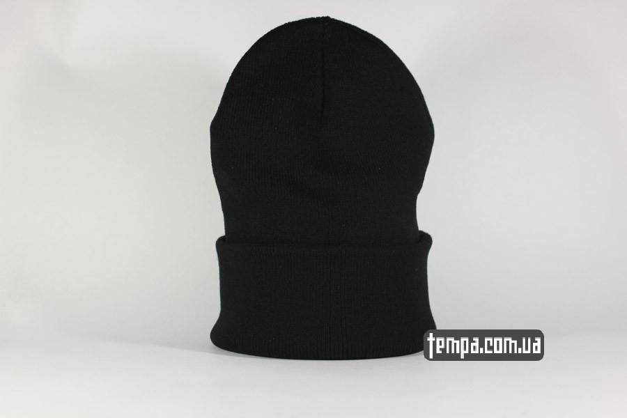 мужская женская гангстерская шапка beanie stussy oldschool USA черная бини