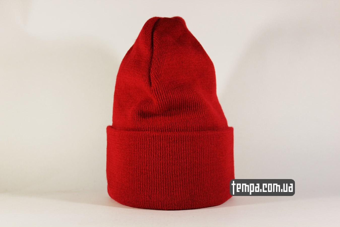 шапка beanie Jordan Jump New Era красная прыжок джордана