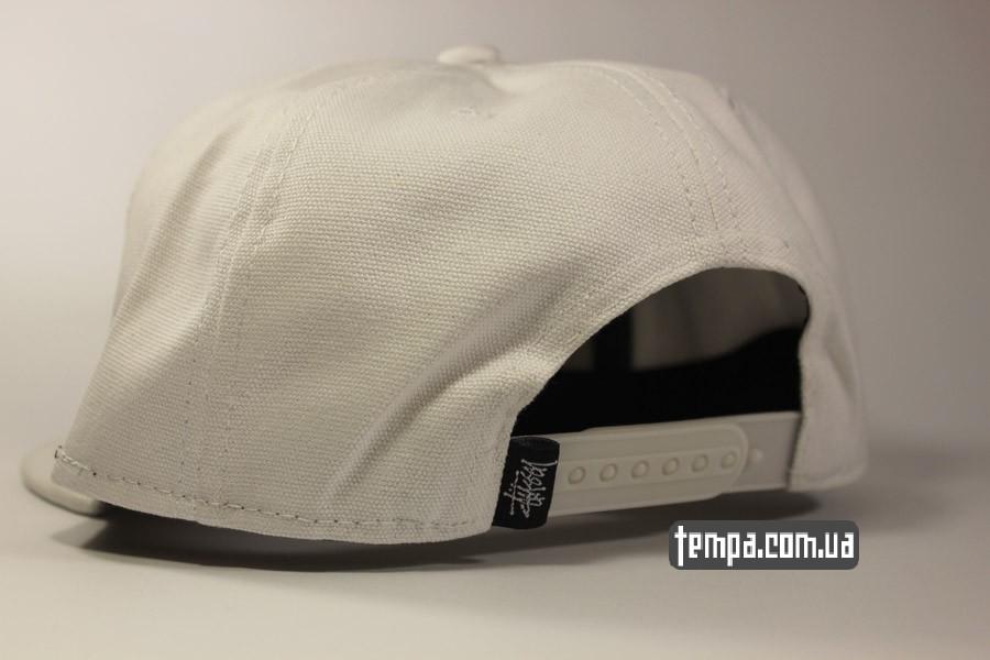 белые снепбеки США оригинал белая кепка бейсболка snapback Stussy украина купить