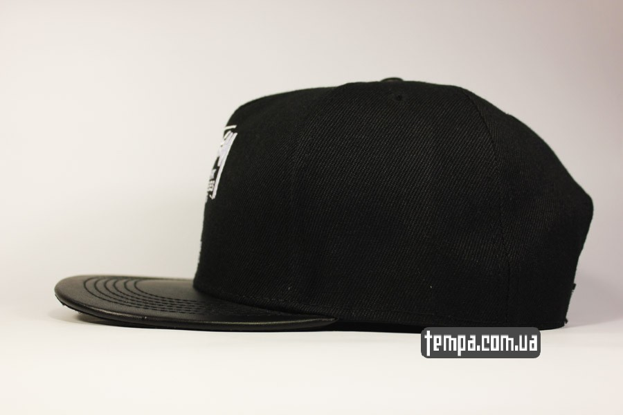 одежда стасси украина черная кепка snapback stussy new york LA tokyo london