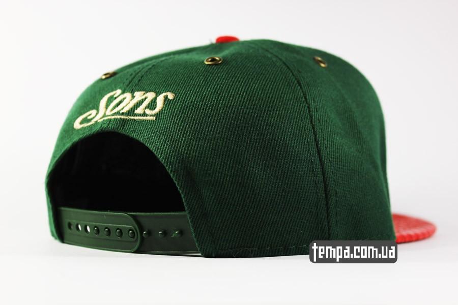 умериканские реперки укарина купить snapback C USA Cayler Sons зеленая