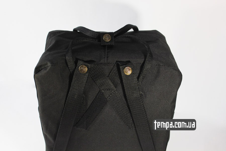 черный рюкзак kanken FJALL RAVEN украина мазани