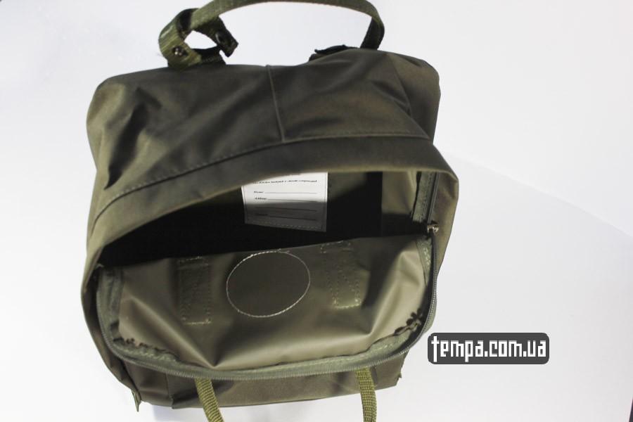 для ноутбука рюкзак kanken FJALL RAVEN хаки