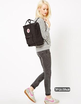 канкен женский рюкзак купить черный