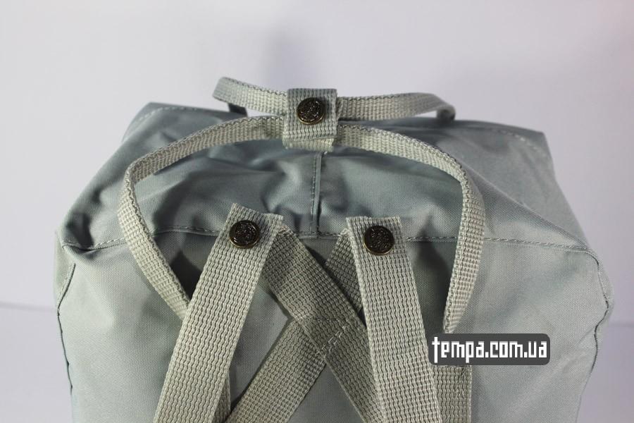 купить рюкзак с лисой канкет серый цвет